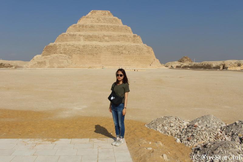 階段ピラミッドと私
