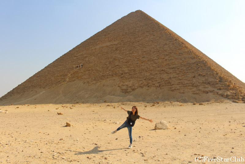 赤ピラミッドと私