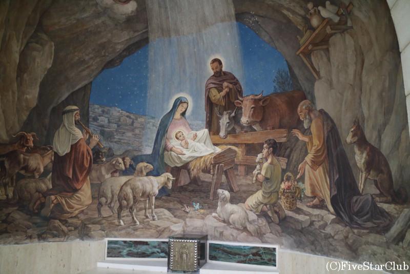 羊飼いの野 ラテン教会
