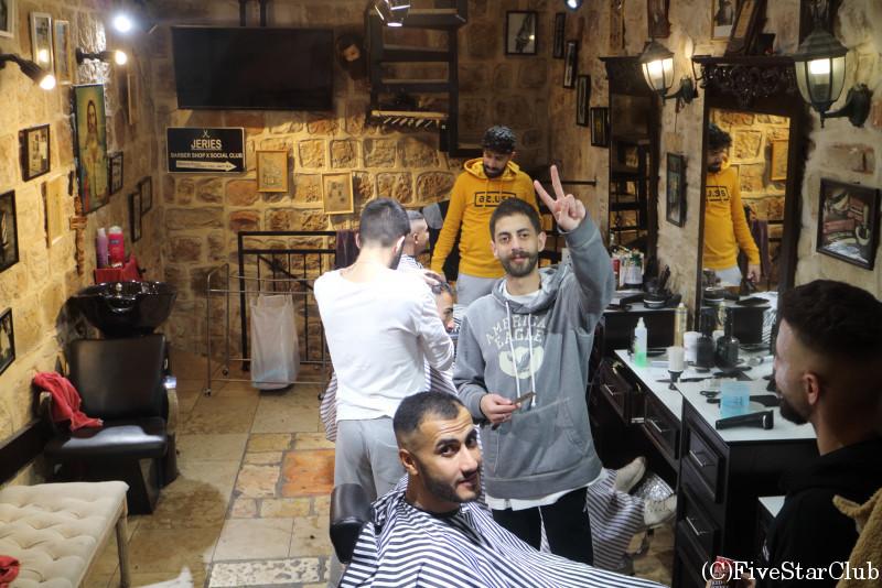エルサレム旧市街の床屋さん