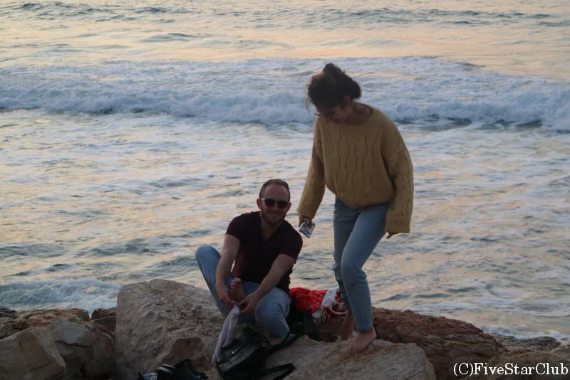 テルアビブの海岸通り