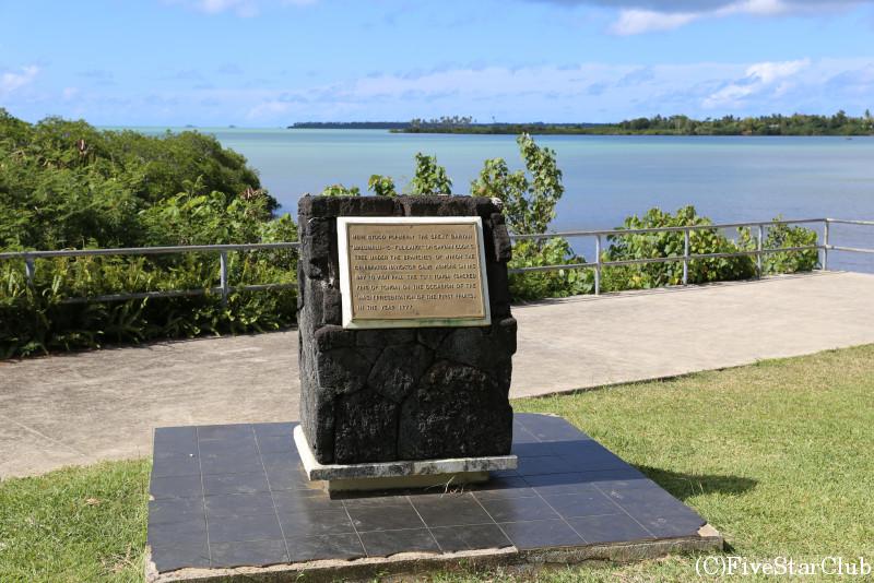キャプテンクック上陸記念碑