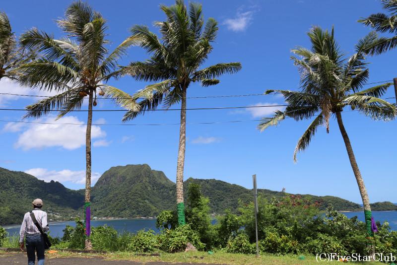 ツツイラ島の風景