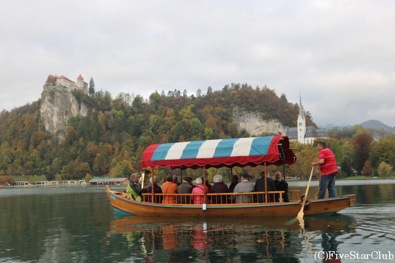ブレッド湖・遊覧船