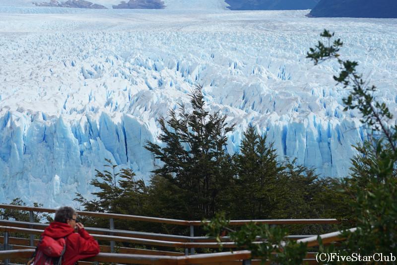 ペリト・モレノ氷河展望台