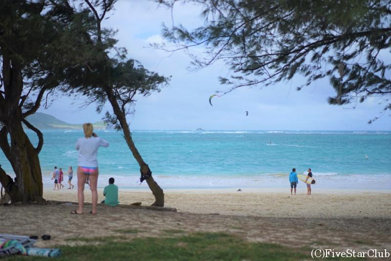 カイルアのラニカイビーチ