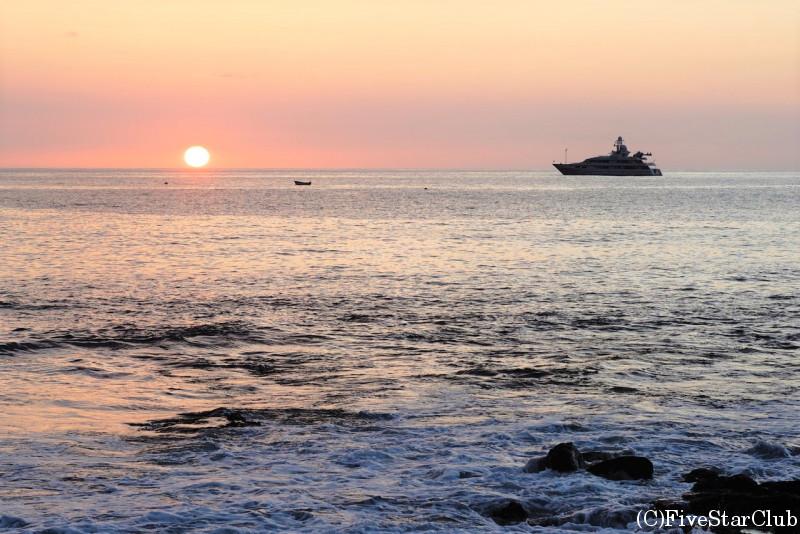 カイルアコナの夕日(ハワイ島)