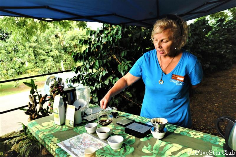 コナコーヒー農園見学(ハワイ島)