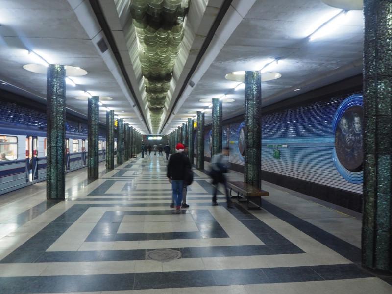 タシケントメトロ コスモナウトラル駅