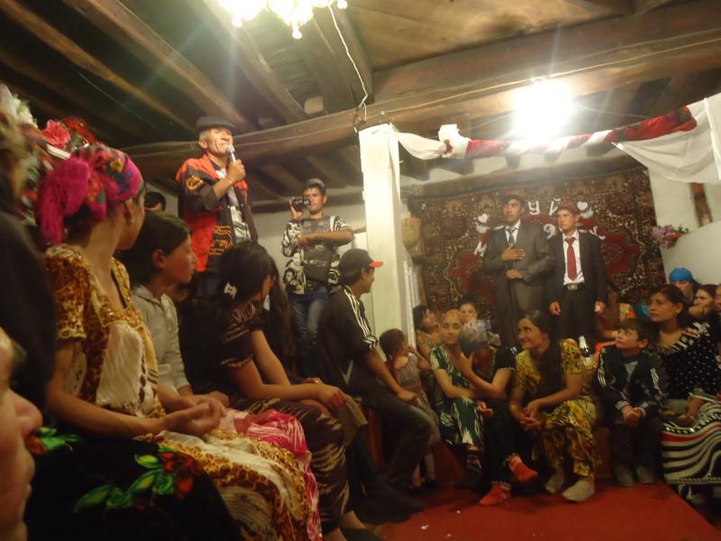 ワハーン回廊の村で結婚式に参加