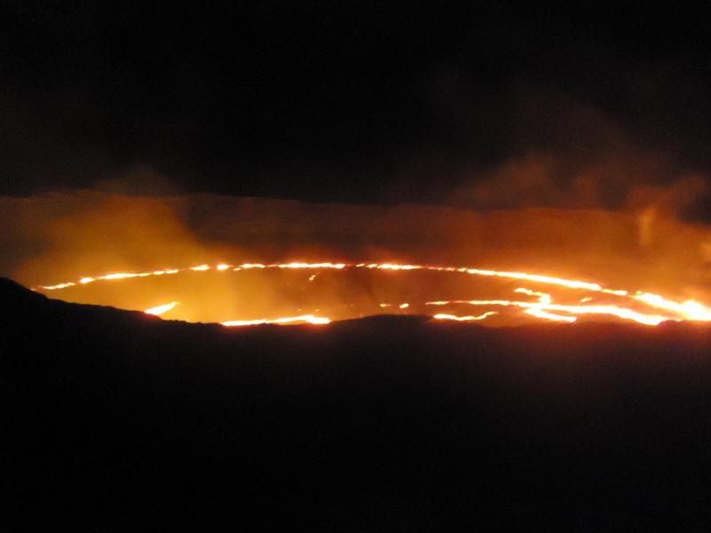 ダナキル砂漠 エルタアレ火山