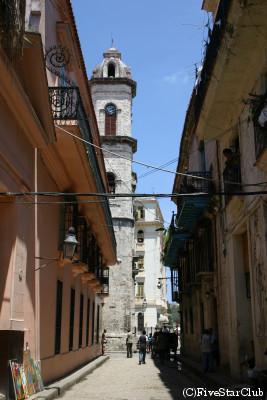 ハバナの旧市街
