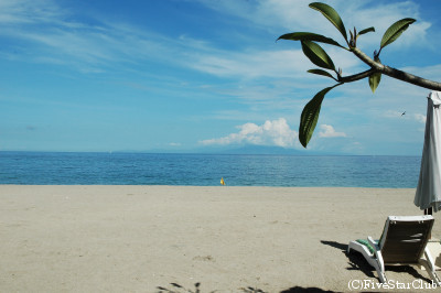 スンギギビーチホテルのビーチ
