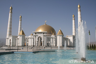 トルクメンバシーモスク (アシハバード)