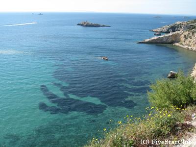 地中海の島 イビサ島の海