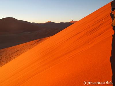 デューン45(ナミブ砂漠)