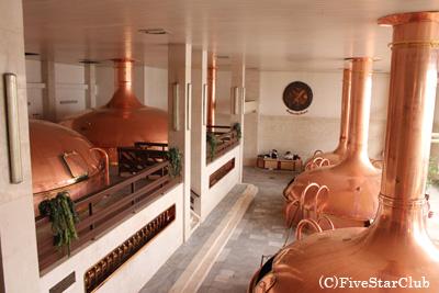 バドワイザーの故郷・ブドヴァル醸造所(プラハ)