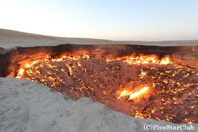 地獄の門(タルヴァザ)