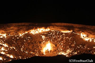 地獄の門/夜の風景(タルヴァザ)