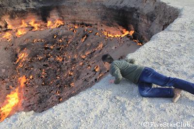 地獄の門/地獄の手前(タルヴァザ)
