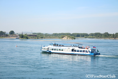 アンガラ川遊覧船