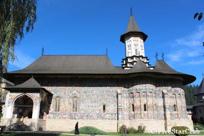 五つの修道院/スチェヴィツァ修道院(スチャバ近郊)