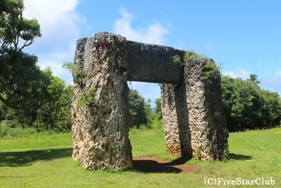 ハァモンガの三石塔