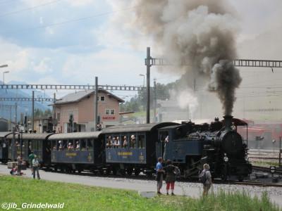 フルカ蒸気機関車(イメージ1)(グリンデルワルト)