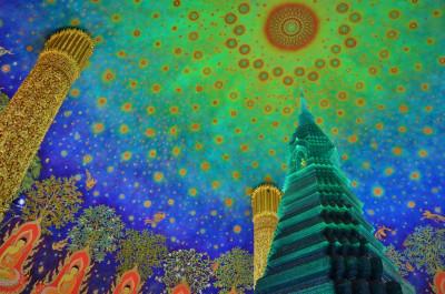 ワット・パクナム寺院(バンコク)