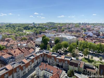 キノコスープ入りライ麦パン(ビリニュス)