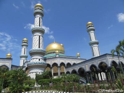 ジャメ・アスル・ハッサナル・ボルキア・モスク(ニューモスク)(バンダルスリブガワン)