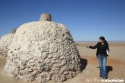 砂漠の中の乳首