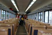 アラスカ鉄道の車内(イメージ)
