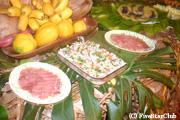 ラパヌイディナー(一般家庭での夕食)