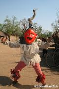 チュワ族の踊り