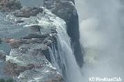 ビクトリア滝へヘリコプター遊覧 (ビクトリアフォールズ)
