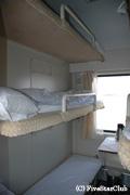 青蔵鉄道の硬臥客室