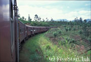 スリランカ列車の旅