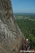 シギリアロック遺跡からの眺望