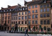 ワルシャワの旧市街は世界遺産になっている