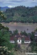 王宮とメコン河
