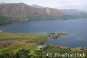 美しき湖水地方の風景