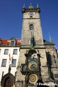 旧市庁舎広場の天文時計