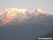 アンナプルナの山々