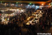 ジャマエル広場の夜景