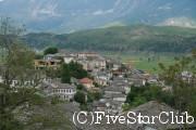 世界遺産のギロカストラの町
