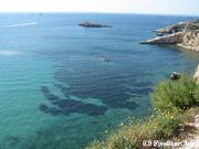 ダルトヴィラから見た地中海