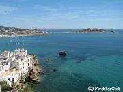 イビサ島のダルトヴィラから見た地中海
