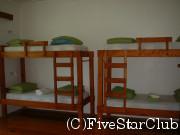 バックパッカーイメージ 二段ベッド