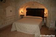 洞窟ホテルの一例(マテーラ)